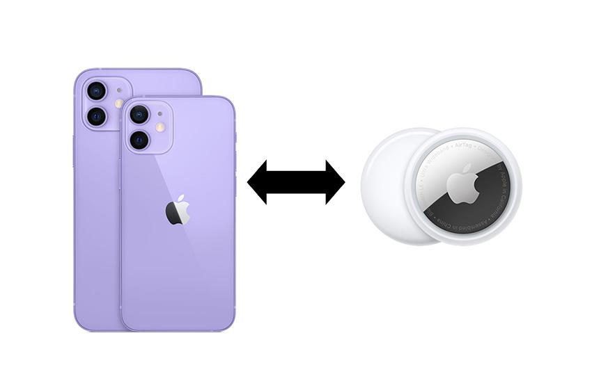 AirTagとiPhone