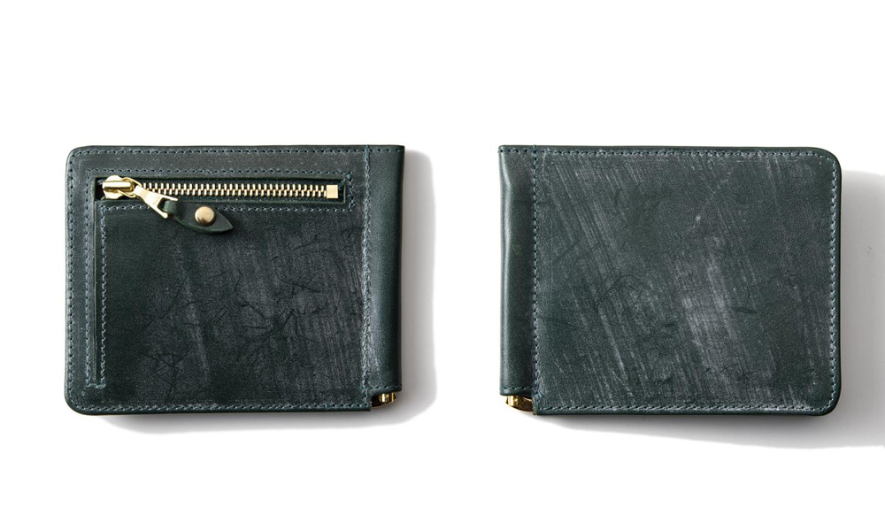 GLENROYAL / グレンロイヤルジップコインポケット付きマネークリップ