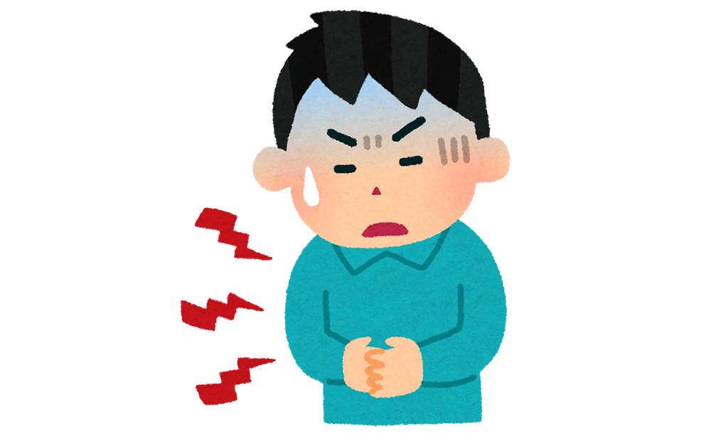 プロテインによる腹痛